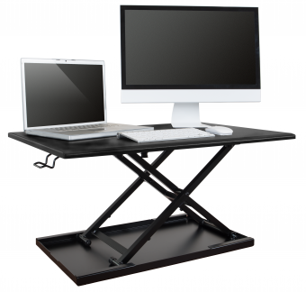 AirRise™ Adjustable Standing Desk Converter