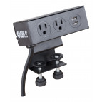Black Clamp-On Power - +$34.00